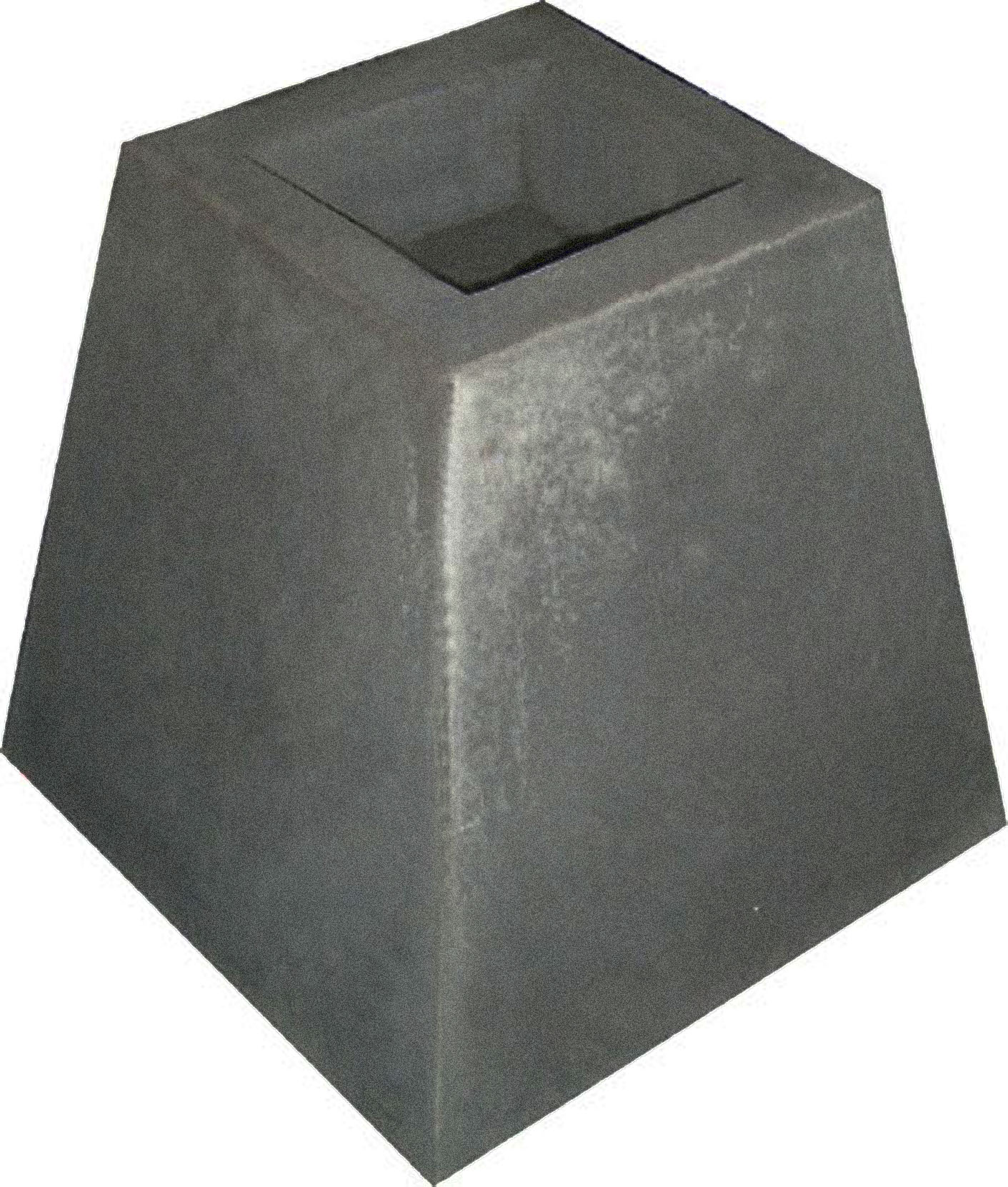 Soporte base para pilar de pergola prefabricados rosavi for Bases para pergolas